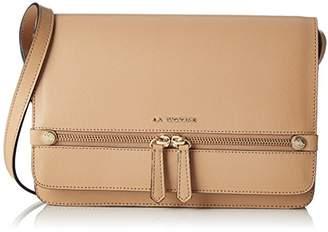 La Bagagerie Women's VIC BENE_OSIER Shoulder Bag Beige