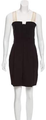 Alexander Wang Silk-Accented Wool Dress
