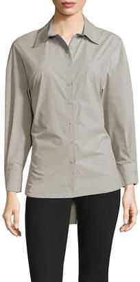 Few Moda Corset Button-Down Shirt