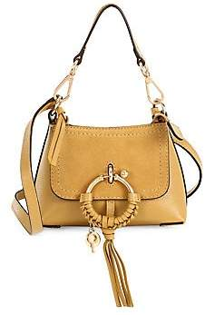 See by Chloe Women's Mini Joan Suede & Pebbled Leather Hobo Bag