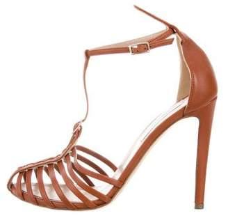 Altuzarra Leather Cage Sandals