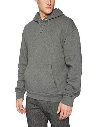 The Kooples Men's Hooded Sweatshirt with Front Pockets and Removable Necklace