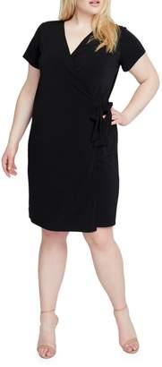 Rachel Roy Plus Self-Tie Wrap Dress