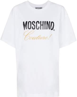 Moschino logo cotton t-shirt