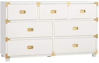 Pottery Barn Teen Gemma Wide Dresser, Simply White