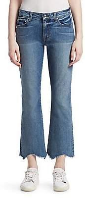 Derek Lam 10 Crosby Women's Gia Distressed Flared Crop Jeans
