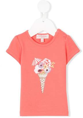 Lili Gaufrette ice cream print T-shirt
