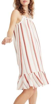 Madewell Stripe Trapeze Tank Dress