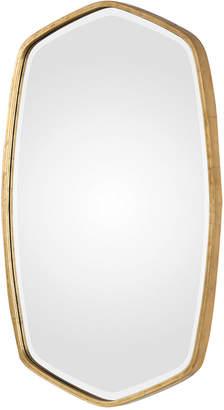 Uttermost Duronia Antiqued Gold-Finish Mirror