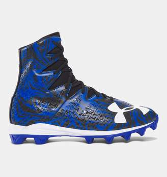 Under Armour Men's UA Highlight Lux Rubber Molded Football Cleats