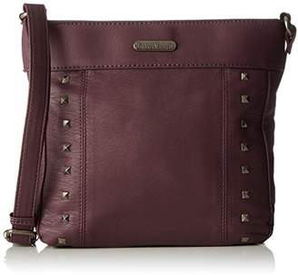 Little Marcel Do05, Women's Cross-Body Bag, Violet (Burgundy), 6x22x24 cm (W x H L)