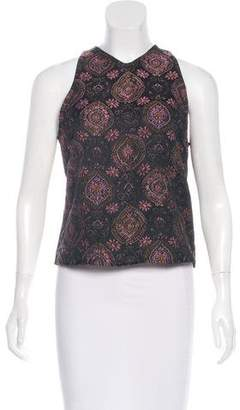 A.L.C. Floral Patterned Sleeveless Top