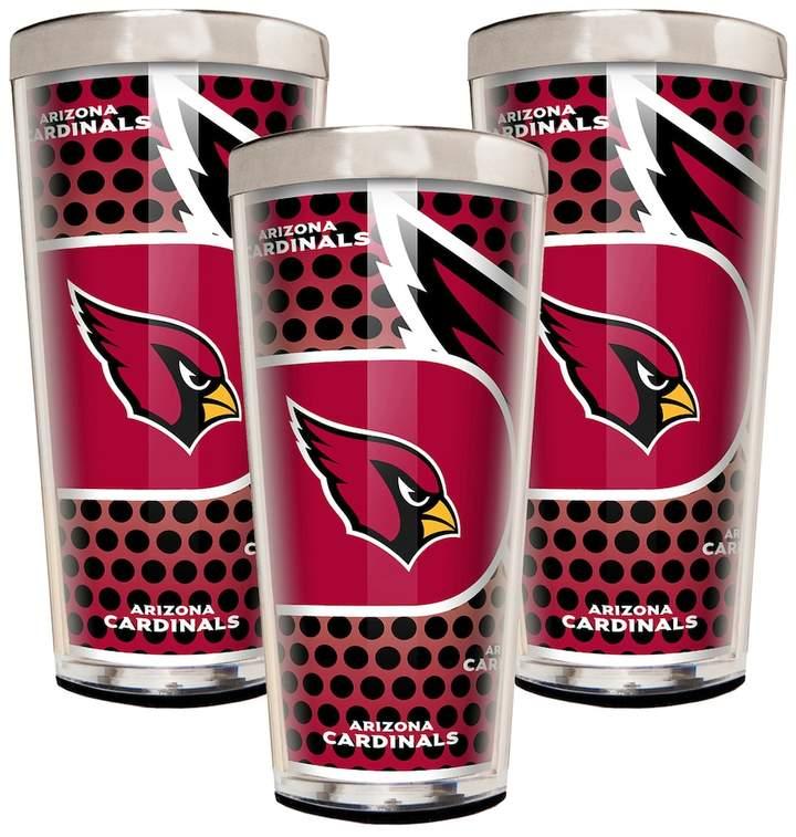 Arizona Cardinals 3-Piece Shot Glass Set