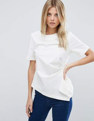 ASOS Origami Structured T-Shirt $46 thestylecure.com