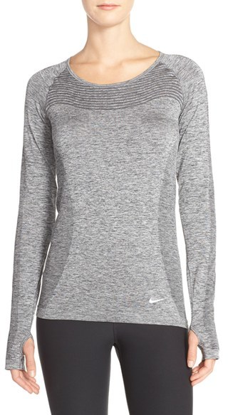 Women's Nike Dri-Fit Long Sleeve Top