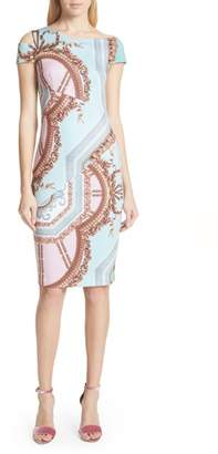Ted Baker Versailles Print Body-Con Dress