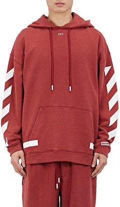"""Off-White c/o Virgil Abloh Men's """"Seeing Things"""" Cotton Fleece Hoodie $520 thestylecure.com"""