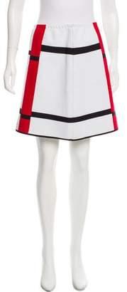 Alaia Striped Mini Skirt