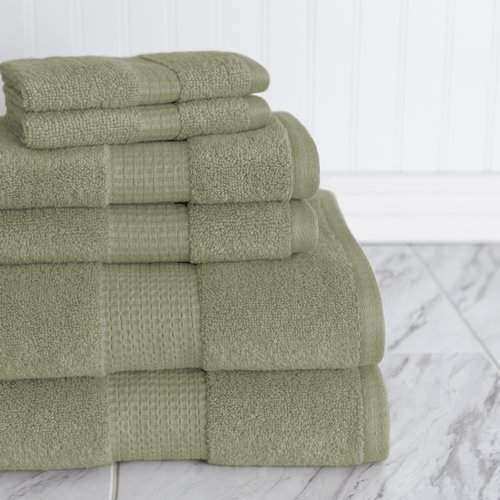 American Dawn Inc. Crystal Bay 6 Piece Towel Set