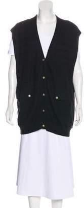 Chloé Oversize Cashmere Vest