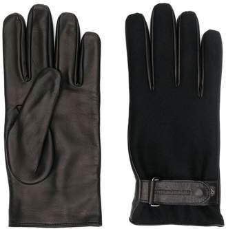 Emporio Armani classic driving gloves