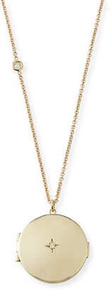 Chicco Zoe 14k Star Diamond Locket Necklace