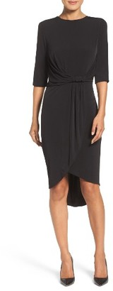 Women's Ivanka Trump Faux Wrap Dress $128 thestylecure.com