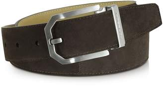 Moreschi Monterey Dark Brown Suede Belt