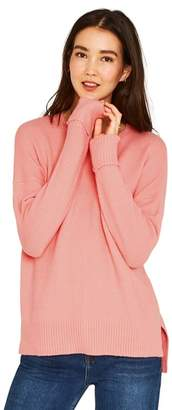 Oasis Pink Long Length Perfect Crew Knit Jumper