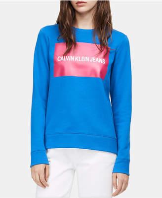 Calvin Klein Jeans Edi Logo Graphic Sweatshirt