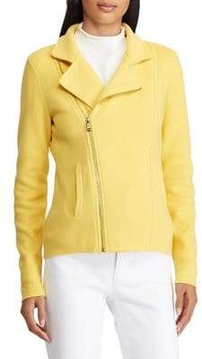 Lauren Ralph Lauren Slim-Fit Moto Jacket