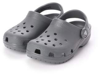 Crocs (クロックス) - LOCONDO クロックス crocs 204536 クラシック キッズ (スレートグレー)