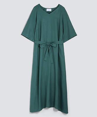 BPQC (ビーピーキューシー) - [BPQC] 【ミモレ掲載品】リネンライクウエストマークドレス