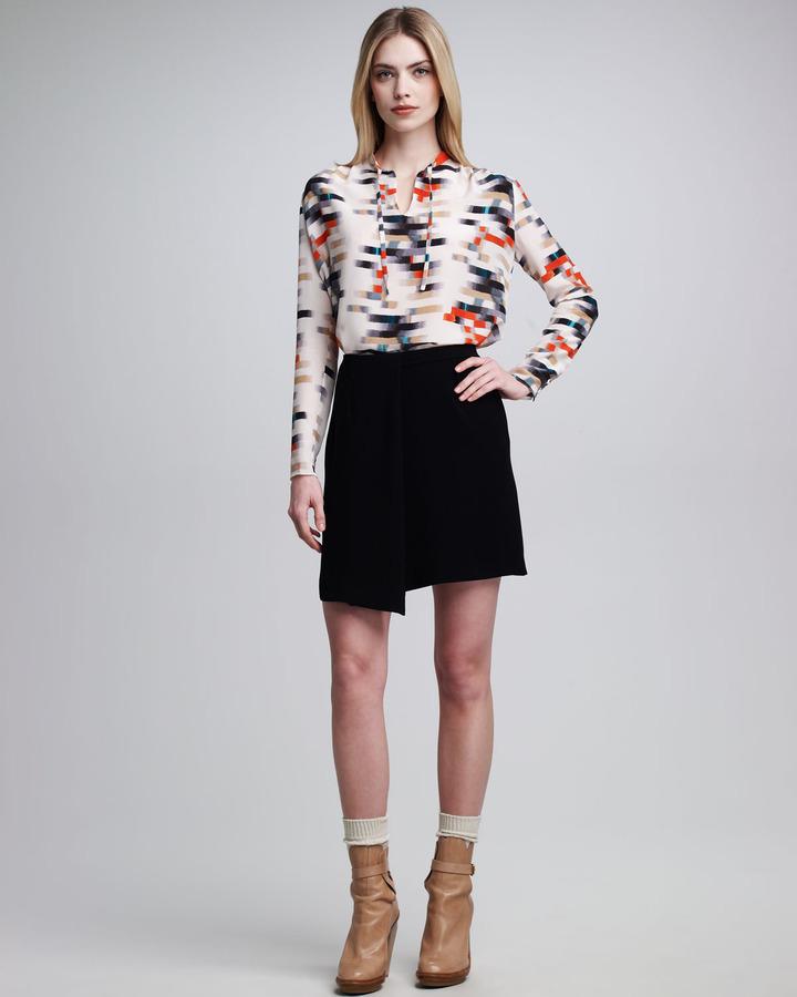 Jean Paul Gaultier Faux-Wrap Skirt