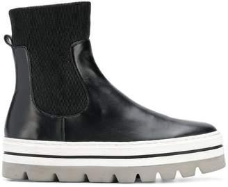 Steffen Schraut elasticated slip-on platform boots