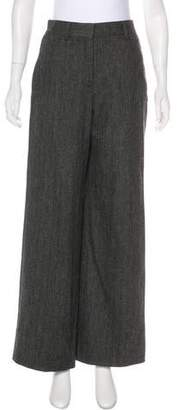 Derek Lam Wool Wide-Leg Pants