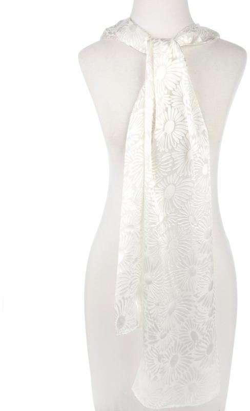 Echo Design Echo Burnout Silk Blend Daisy Wrap