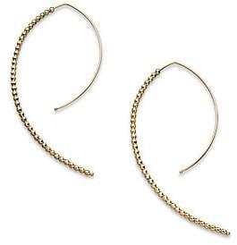 """Mizuki Women's 14K Yellow Gold Marquis-Shaped Earrings/2"""""""