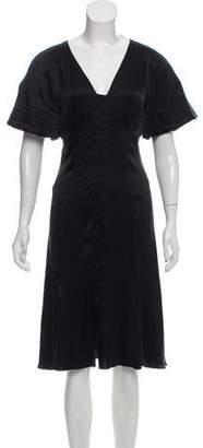 Philosophy di Alberta Ferretti Short Sleeve Midi Dress