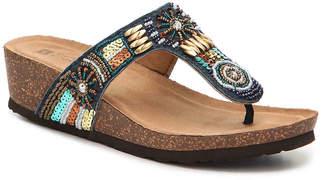White Mountain Brilliant Wedge Sandal - Women's