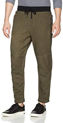 William Rast Men's Lewis Moto Jogger Pant