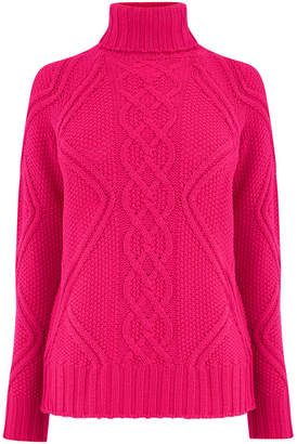 Oasis Matilda Cable Knit Jumper