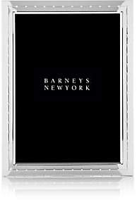 """Barneys New York Dotted Silver-Plated 5"""" x 7"""" Picture Frame-Silver P"""