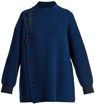 Stella McCartney Ribbed-knit wool cardigan