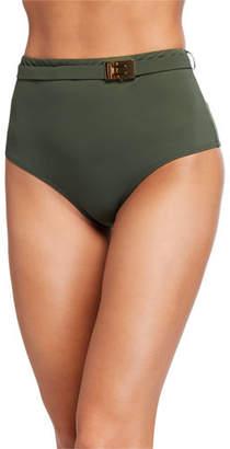 Tory Burch T-Belt High-Waist Bikini Bottom