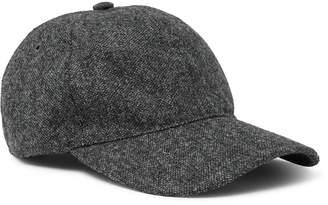 A.P.C. Aaron Wool-Tweed Baseball Cap - Men - Gray