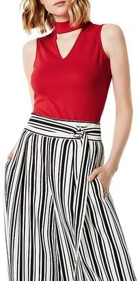Karen Millen Cutout Sleeveless Top