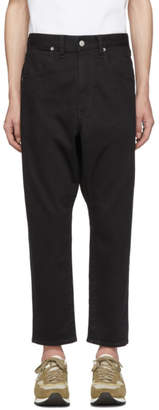 Bobson Wheir Black Drop Crotch Jeans