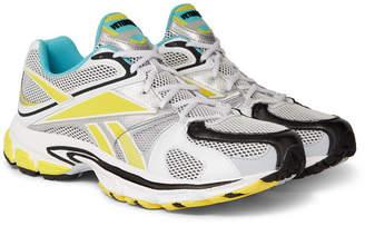 Vetements + Reebok Runner 200 Rubber-Trimmed Mesh Sneakers