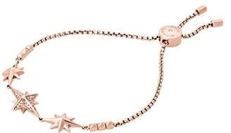 Michael Kors Brilliance Starburst Pave -Tone Slider Bracelet